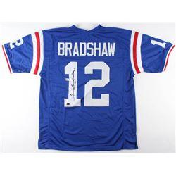 Terry Bradshaw Signed Jersey (Radtke COA  Bradshaw Hologram)