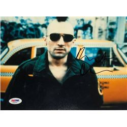 """Robert De Niro Signed """"Taxi Driver"""" 8x10 Photo (PSA COA)"""