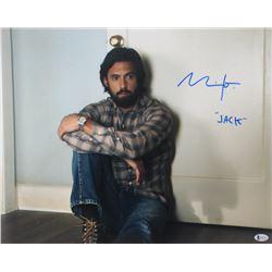 "Milo Ventimiglia Signed ""This is Us"" 16x20 Photo Inscribed ""Jack"" (Beckett COA)"