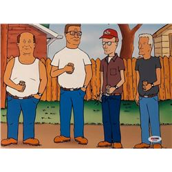 """Mike Judge Signed """"King of the Hill"""" 11x14 Photo (PSA COA)"""
