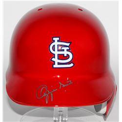 Ozzie Smith Signed Cardinals Authentic Full-Size Batting Helmet (Radtke COA)