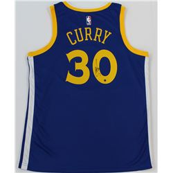 Steph Curry Signed Warriors Jersey (Steiner COA)