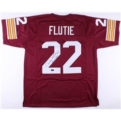 "Doug Flutie Signed Boston College Eagles Jersey Inscribed ""Heisman 84"" (Radtke COA)"