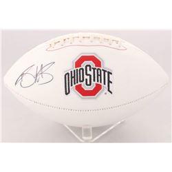 Braxton Miller Signed Ohio State Buckeyes Logo Football (Radtke Hologram)
