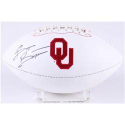 DeMarco Murray Signed Oklahoma Sooners Logo Football (JSA COA)