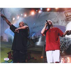 Dr. Dre Signed 11x14 Photo (PSA Hologram)