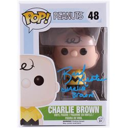 "Brad Kesten Signed ""Peanuts"" Charlie Brown #48 Funko Pop! Vinyl Figure (Beckett COA)"