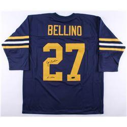 "Joe Bellino Signed Jersey Inscribed ""H 1960"" (Radtke COA)"