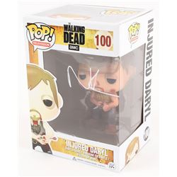 "Norman Reedus Signed ""The Walking Dead"" Injured Daryl Funko Pop! (Radtke COA)"