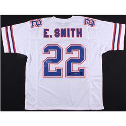 Emmitt Smith Signed Jersey (Radtke COA, Prova Hologram  Smith Hologram)