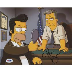 "Jon Hamm Signed ""The Simpsons"" 8x10 Photo (PSA COA)"