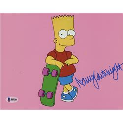 "Nancy Cartwright Signed ""The Simpsons"" 8x10 Photo (Beckett COA)"