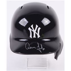 Aaron Judge Signed New York Yankees Full-Size Batting Helmet (Fanatics Hologram  MLB Hologram)
