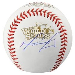 David Ortiz Signed 2013 World Series Baseball (Fanatics Hologram)