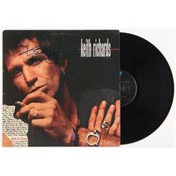 "Keith Richards Signed ""Talk Is Cheap"" Vinyl Record Album (JSA ALOA)"