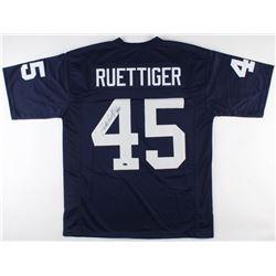 Rudy Ruettiger Signed Jersey (Schwartz COA)
