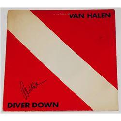 """Alex Van Halen Signed """"Diver Down"""" Vinyl Record Album Cover (PSA COA)"""