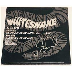 "David Coverdale Signed ""Slide It In"" Vinyl Record Album Cover (PSA COA)"
