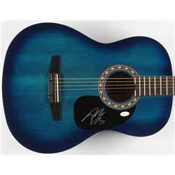 Post Malone Signed Full-Size Rogue Acoustic Guitar (JSA COA)