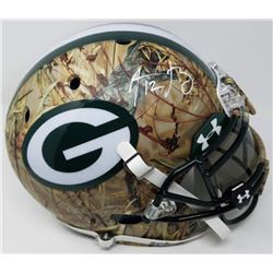 Aaron Rodgers Signed Packers LE Custom Hydro Dipped Camouflage Full-Size Authentic On-Field Helmet (