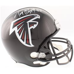 Tony Gonzalez Signed Falcons Full-Size Helmet (JSA COA)