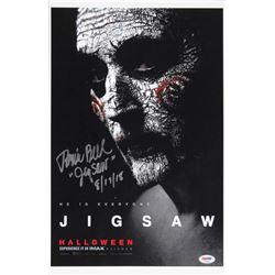 "Tobin Bell Signed ""Saw"" 11x17 Photo Inscribed ""JigSaw""  ""8/17/18"" (PSA Hologram)"