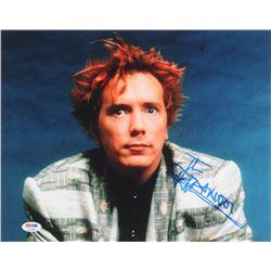 John Rotten Signed Sex Pistols 11x14 Photo (PSA COA)