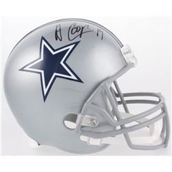 Amari Cooper Signed Cowboys Full-Size Helmet (JSA COA)