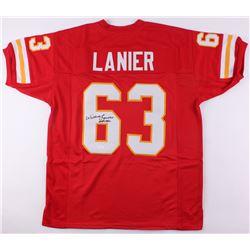 "Willie Lanier Signed Jersey Inscribed ""HOF 1986"" (JSA COA)"