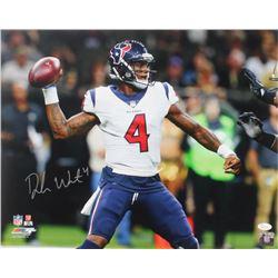 Deshaun Watson Signed Houston Texans 16x20 Photo (JSA COA)