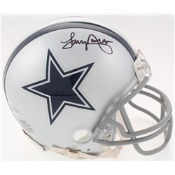 Tony Dorsett Signed Dallas Cowboys Mini Helmet (Beckett COA)