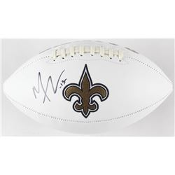 Michael Thomas Signed New Orleans Saints Logo Football (JSA COA)