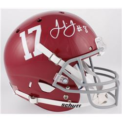 Julio Jones Signed Alabama Crimson Tide Full-Size Helmet (JSA COA)
