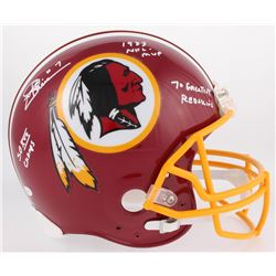 "Joe Theismann Signed Redskins Full-Size Authentic On-Field Helmet Inscribed ""SB XVII Champs"", ""1983"