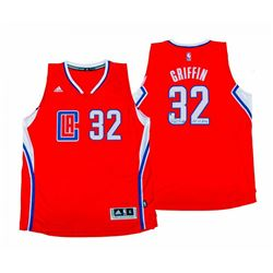 "Blake Griffin Signed LE Los Angeles Clippers Adidas Jersey Inscribed ""10-11 ROY"" (Panini COA)"