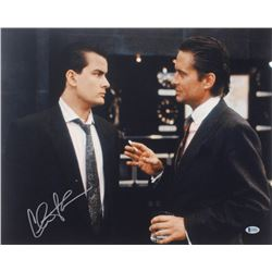 "Charlie Sheen Signed ""Wall Street"" 16x20 Photo (Beckett COA)"