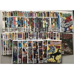 Lot of (69) 1988-1998 Spectacular Spider-Man First Series Comic Books