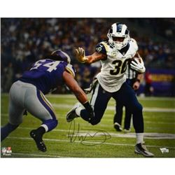 "Todd Gurley Signed Rams ""Stiff Arm"" 16x20 Photo (Fanatics Hologram)"