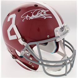Derrick Henry Signed Alabama Crimson Tide Full-Size Helmet (Radtke COA  Henry Hologram)