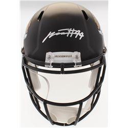 Myles Jack Signed Jaguars Full-Size Speed Helmet (Beckett COA)