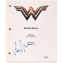 "Patty Jenkins Signed ""Wonder Woman"" Full Movie Script (PSA COA)"