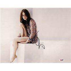 Emma Stone Signed 11x14 Photo (PSA COA)