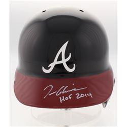 "Tom Glavine Signed Atlanta Braves Full-Size Batting Helmet Inscribed ""HOF 2014"" (Radtke COA)"