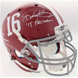 Derrick Henry  Mark Ingram Signed Alabama Crimson Tide Full-Size Authentic On-Field Helmet Inscribed