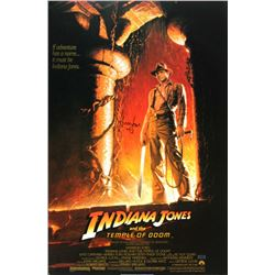 "Harrison Ford Signed ""Indiana Jones: Temple of Doom"" 27x40 Poster (Radtke COA)"