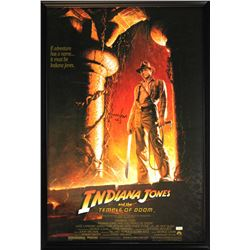 "Harrison Ford Signed ""Indiana Jones: Temple of Doom"" 30x43 Custom Framed Poster (Radtke COA)"