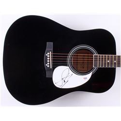 "Steven Tyler Signed 41"" Acoustic Guitar (PSA Hologram)"