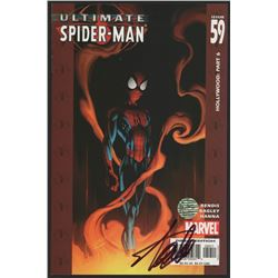 "Stan Lee Signed 2004 ""Ultimate Spider-Man"" Issue #59 Marvel Comic Book (Lee COA)"
