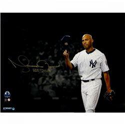 "Mariano Rivera Signed New York Yankees ""Hat Tip"" 16x20 Photo Inscribed ""HOF 2019"" (Steiner COA)"