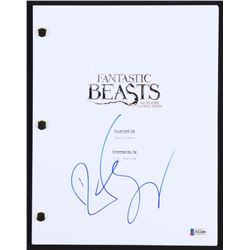"Dan Fogler Signed ""Fantastic Beasts and Where to Find Them"" Full Movie Script (Beckett COA)"